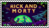 (Stamp request) Rick and Morty Stamp by Foxstar241