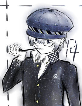 Detective with a Blue Hat - P4