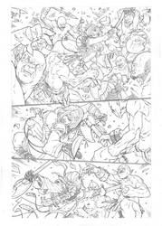 Jirni (Aspen comics) sample page 1 by MarkReindeer