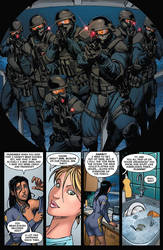 All New Fathom Issue #3 PREVIEW PAGE by MarkReindeer