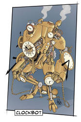 CLOCKBOT (MONSTERS IN MY MIND) COLOR