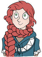 Braid Scarf by pinearts