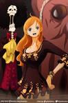 Nami Brook and Tako~YoohPopon // One Piece Ch910