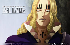 Basil Hawkins in Wano // One Piece Ch911 by goldenhans