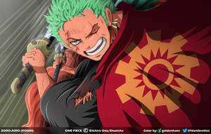 Zoro-juro Ronin // One Piece Ch913 by goldenhans