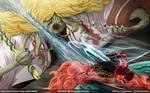 Zoro-juro: Nigiri Toro Samon // One Piece Ch913