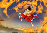 Luffy: Gomu gomu no Red Hawk // One Piece Ch917
