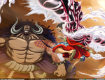 Wallpaper - Kaido and Luffy