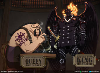 King y Queen // One Piece Ch925 by goldenhans