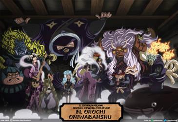 Oniwabanshu // One Piece Ch931 by goldenhans