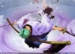 Santoryu Rengoku Onigiri // One Piece Cap. 937
