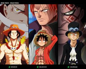 Collab One Piece - Hermanos y la voluntad heredada
