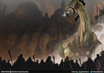 Queen - Braquiosaurio // One Piece Ch945