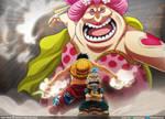Luffy vs O-Lin  // One Piece Ch946