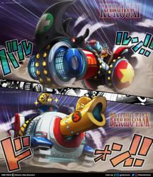 One Piece 979 // Kurosai FR-U IV y Brachio Tank V
