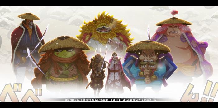 One Piece 985 // Samurais de Wano