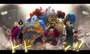 Los Piratas de Sombrero de Paja / One Piece ch 989