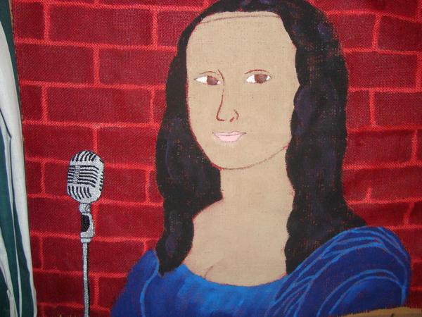 Monalisa the Comedian by Badbrowneyes