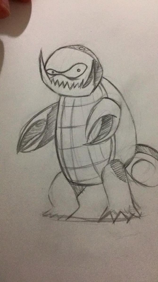 Squirtle + Kingler by Xkosovox