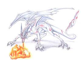 White Dragon by Theerya