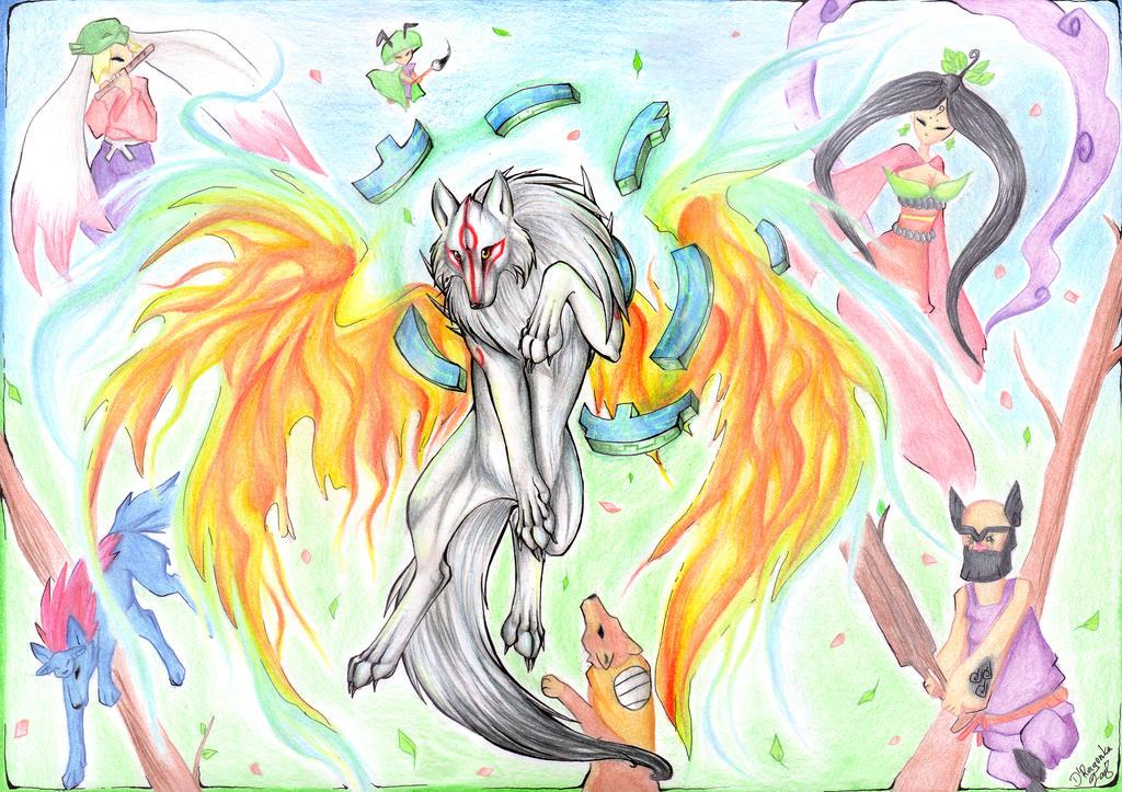 :Amaterasu: by DRagonka