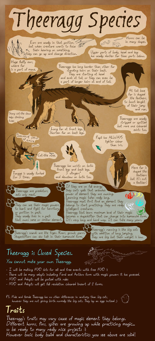 Theeragg - Closed Species by Theerya