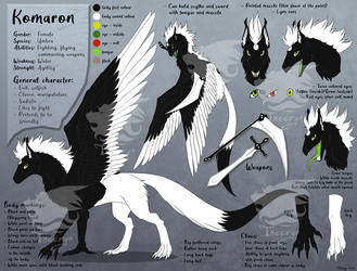 Komaron Feral Reference Sheet