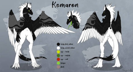 Komaron Anthro Reference Sheet