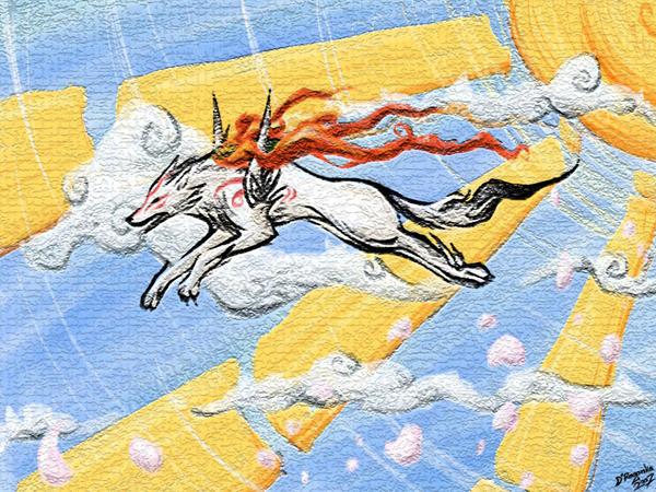 Amaterasu... by DRagonka