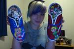 Custom Zelda Shoes