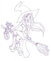 Castlevania - Witch by Nico--Neko