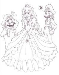 The Princess is so pretty by Nico--Neko