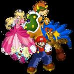 Super Mario RPG - Five Heroes