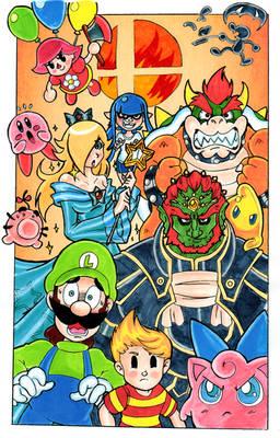 Smash Bros - Ready For Battle