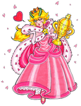 Princess Peach - The Racing Queen