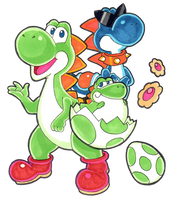 Super Mario RPG - Yoshi and Co by Nico--Neko