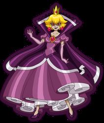 Shadow Queen Peach by Nico--Neko
