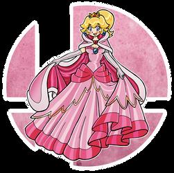 Smashed! - Princess Peach by Nico--Neko
