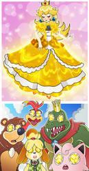 Super Smash Bros - A Blinding Alternate Costume by Nico--Neko
