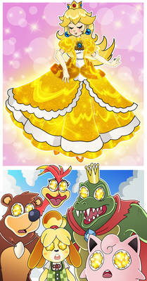 Super Smash Bros - A Blinding Alternate Costume