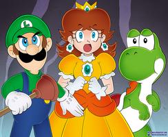 Super Mario Bros - Meteorite Scene