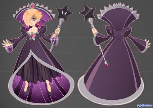 Shadow Rosalina - Reference Sheet A