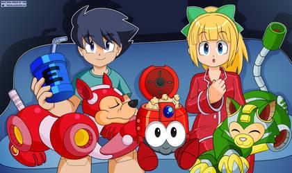 Mega Movie Night by Nico--Neko