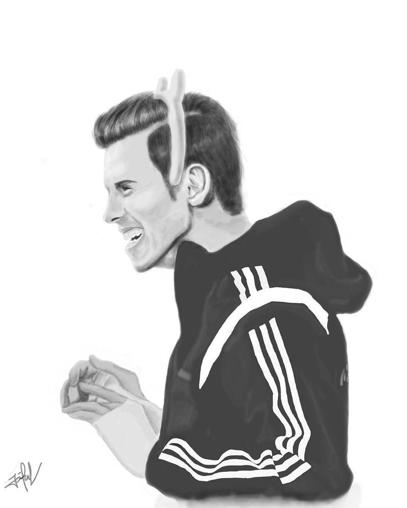 Gareth Bale by lutiaz