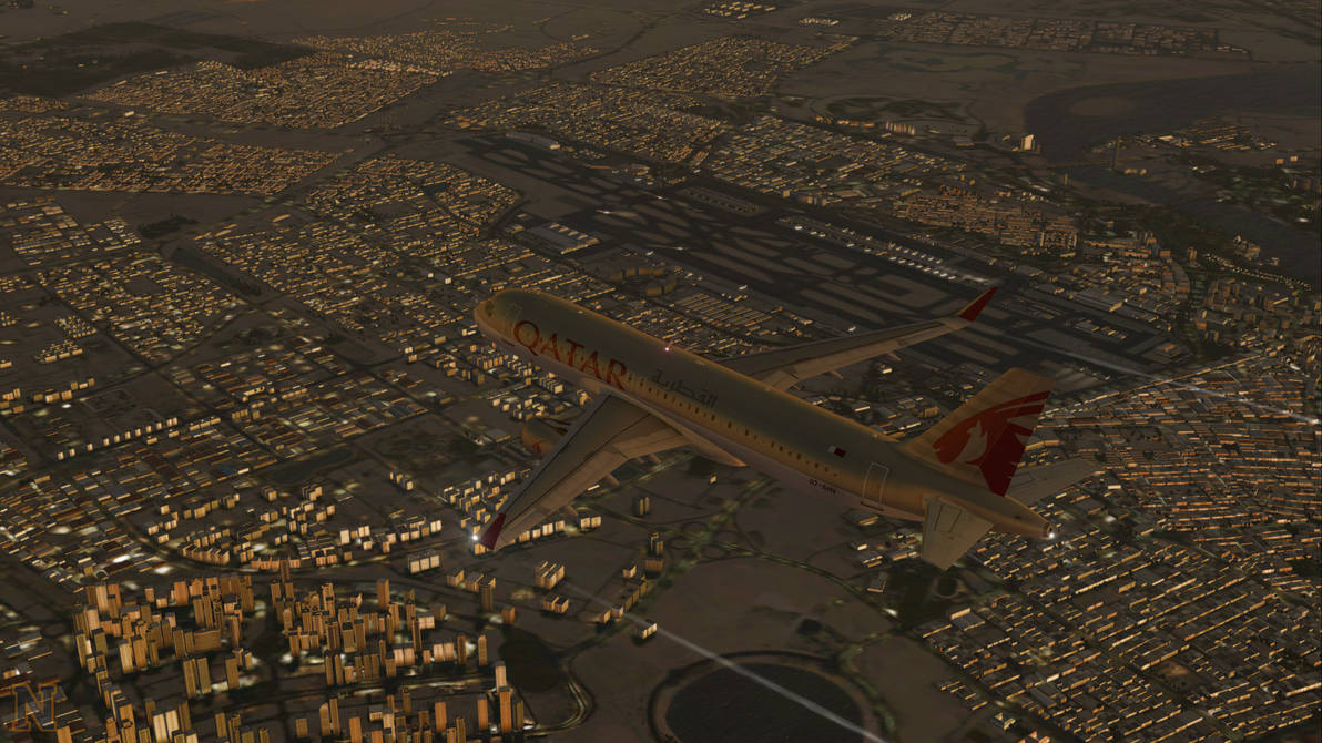 Dubai International Airport | FSX by NovaticDesign on DeviantArt
