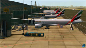 Fly Emirates   Mega Airport Dubai [FSX]