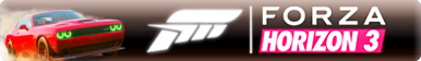 FORZA HORIZON 3 Button