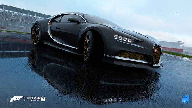 Chiron in the Rain   FORZA Motorsport 7