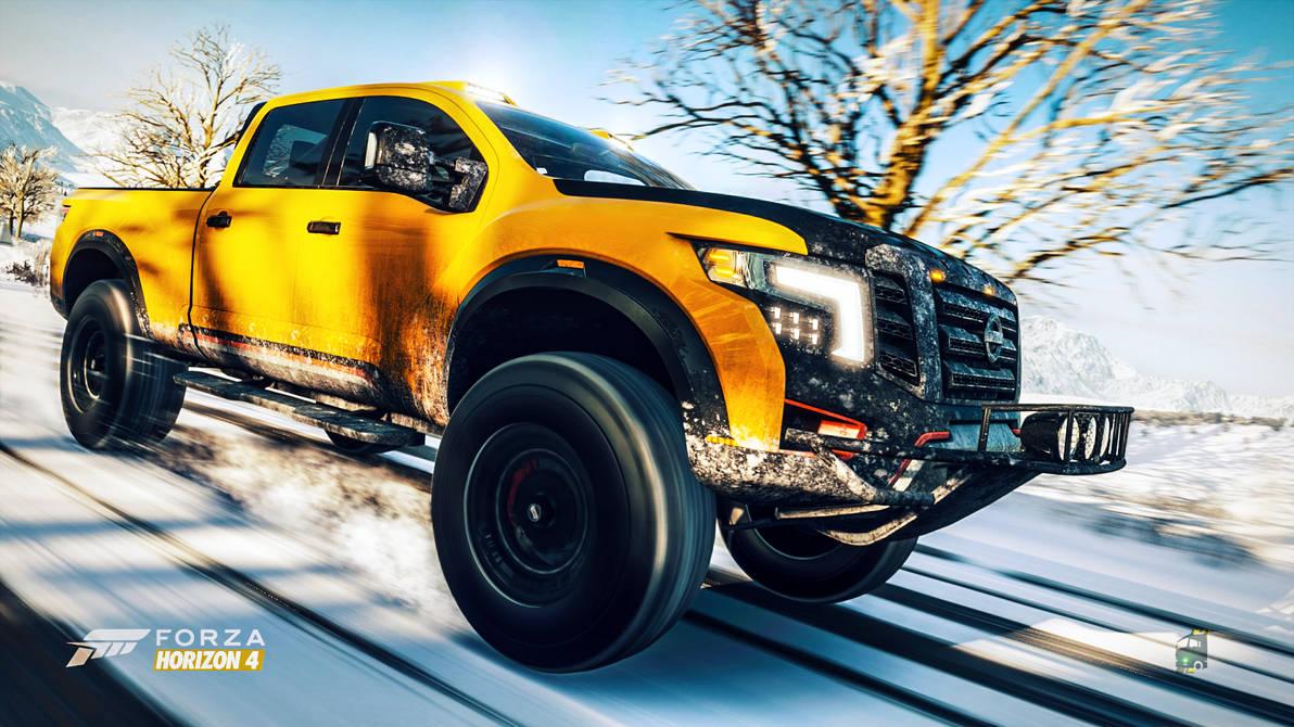 Winter Warrior Forza Horizon 4 By Novaticdesign On
