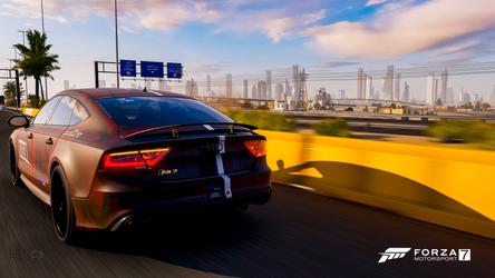 Dubai Skyline | FORZA Motorsport 7 | 4K by NovaticDesign